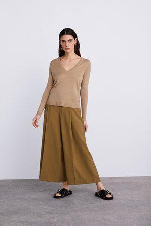 Zara Pull en maille de laine mérinos