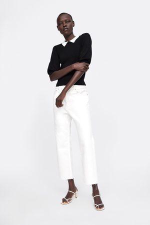 Zara Pull avec col en contraste