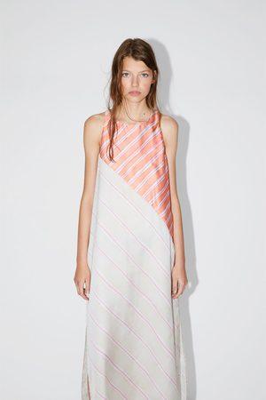 Zara Femme Robes imprimées - Robe à rayures