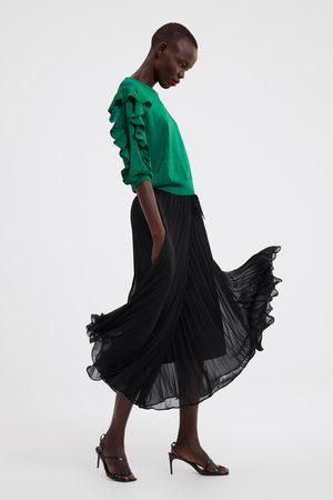 Zara Pull en maille brillante