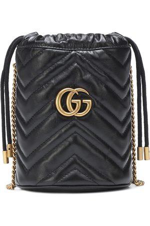 Gucci Femme Sacs & Valises - Sac seau GG Marmont Mini en cuir