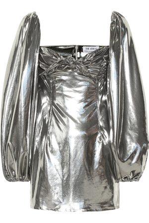The Attico Robe métallisée
