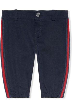 Gucci Pantalon à rayures latérales