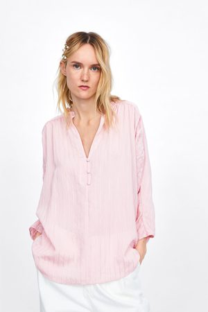 Zara Chemise à rayures et boutons