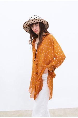 Zara Chemise à imprimé pois