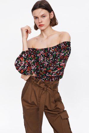 Zara Blouse à imprimé floral