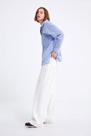 Zara Chemise oversize à rayures