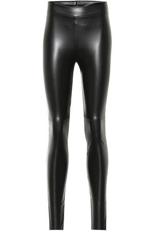 Wolford Legging Estella en cuir synthétique