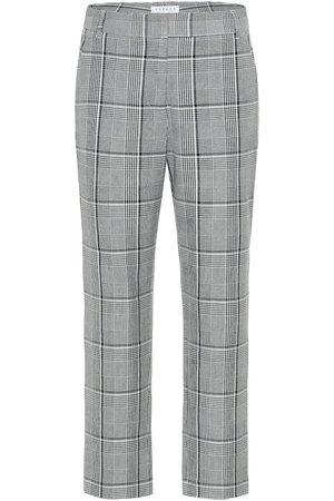 Velvet Femme Pantalons - Pantalon Abigail à carreaux