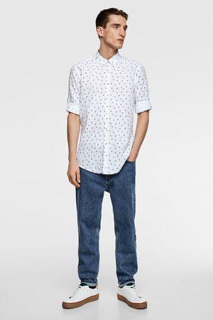 Zara Homme Casual - Chemise à imprimé floral