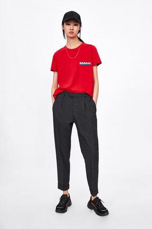 Zara T-shirt à manches assorties