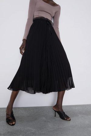 Zara Jupe-culotte plissée