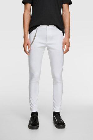Zara Pantalon super skinny à chaîne