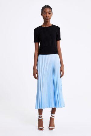 Zara Femme Tops & T-shirts - Haut côtelé à boutons