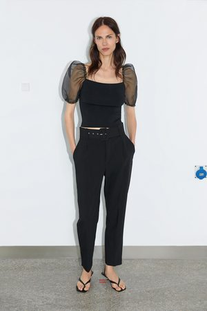 8a60e6e322917 Acheter Pantalons femme Zara en Ligne | FASHIOLA.fr | Comparer & acheter