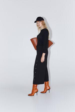 3110928c45b01 Acheter Pantalons larges femme Zara en Ligne   FASHIOLA.fr ...