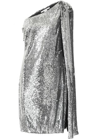 Stella McCartney Robe asymétrique à sequins