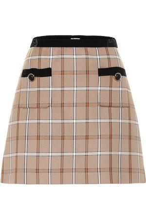3d22be5b717e6d Mini-jupe à carreaux