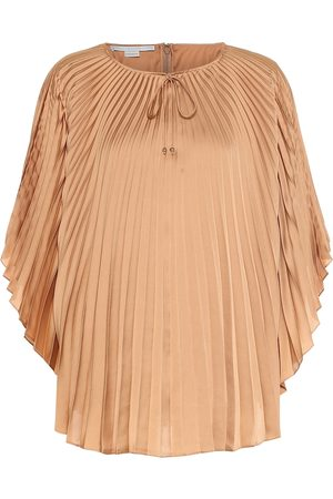 Stella McCartney Femme Manches longues - Top Moama en satin