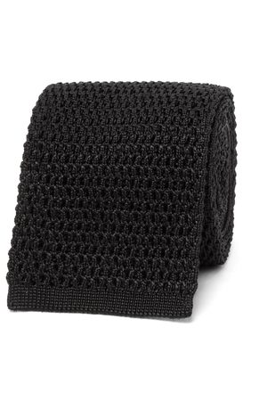 Tom Ford Homme Cravates - 7.5cm Knitted Silk Tie
