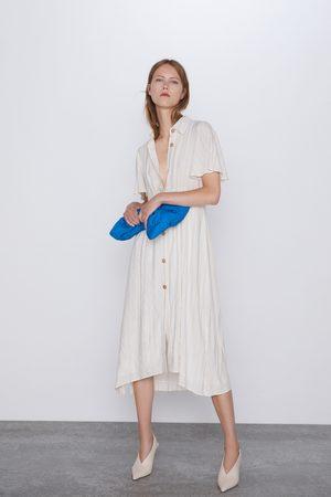 Zara Robe rustique à rayures