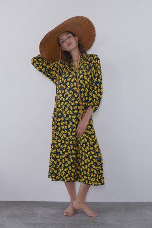 Zara Robe longue à imprimé floral