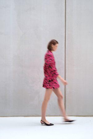 Zara Veste robe à imprimé fleuri