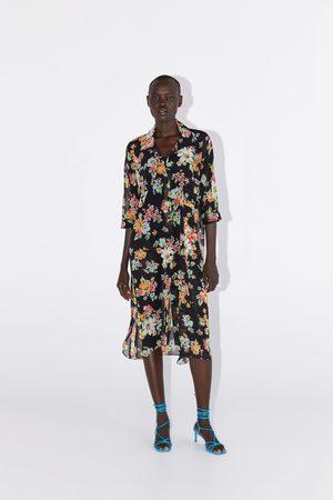 Zara Chemise à imprimé fleuri