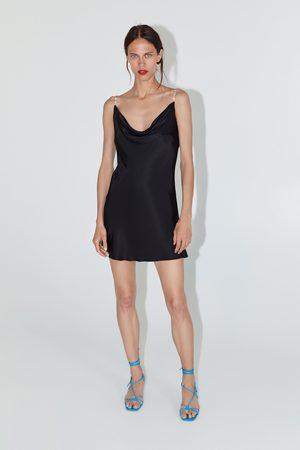 Zara Robe courte style lingerie