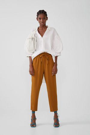 Acheter Pantalons larges femme Zara en Ligne