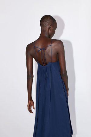 Zara Robe style lingerie à fronces