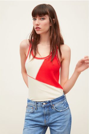Zara T-shirt bicolore