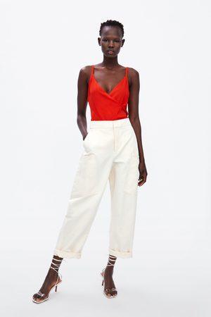 Zara Femme Tops & T-shirts - Top croisé