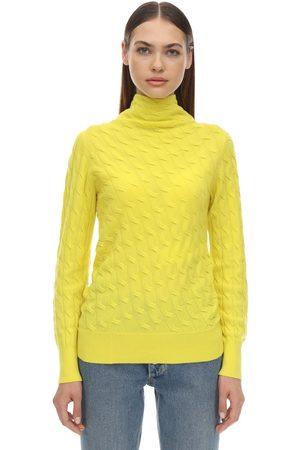 Sportmax Miele Cashmere Knit Sweater