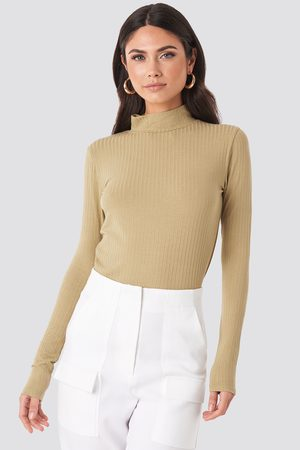NA-KD Turtle Neck Long Sleeve Top