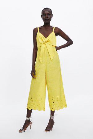 Zara Combinaison à noeuds brodés
