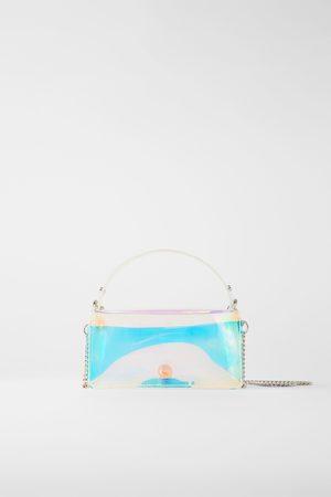 Zara Mini sac de ville irisé