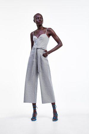 Zara Combinaison à et ceinture