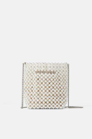 Zara Femme Sacs & Valises - Mini sac seau à perles