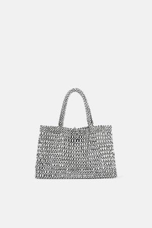 Zara Mini sac shopper métallisé