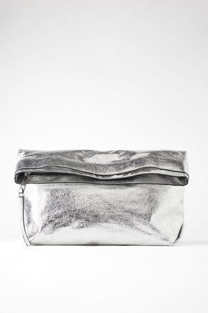 Zara Femme Sacs & Valises - Maxi sac enveloppe métallisé
