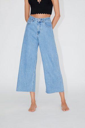 014237ec9c148c Jupe-culotte en jean taille normale