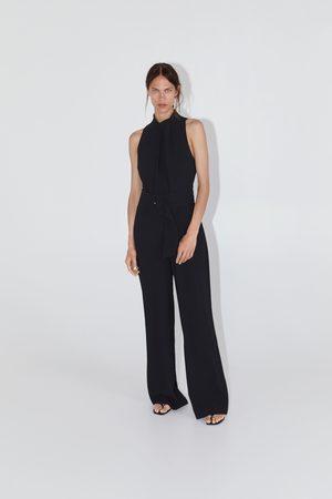 Zara Combinaison longue avec ceinture