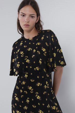 Zara Robe mini à imprimé floral
