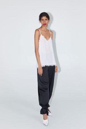 Zara Top style lingerie en jacquard