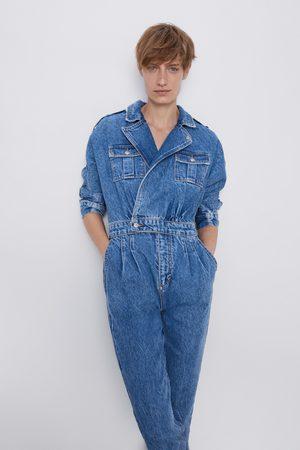 Zara Combinaison '80s arizona blue