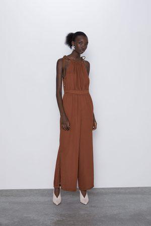 Zara Combinaison à bretelles et lacets