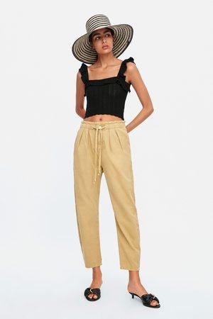 Zara Pantalon baggy à pinces