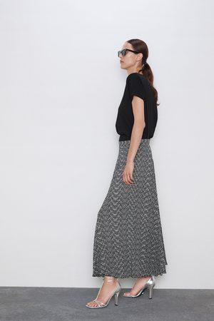 Zara Jupe plissée imprimée