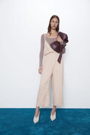 Zara Combinaison à bretelles croisées